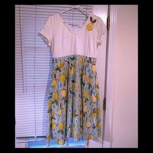 Eshakti retro lemons dress